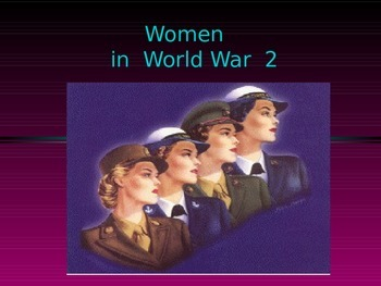 Women in WW2