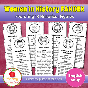 Women in World History Fandex
