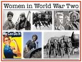Women in World War Two : Mini Unit
