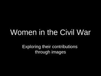 Women in the Civil War