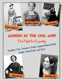 Women in the Civil War mini-unit, including text