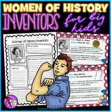 Women of History Inventors - Activities for Teens
