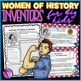 Women of History Inventors - Activities for Teens