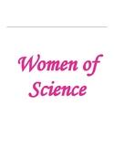 Women of Science Bulletin Board