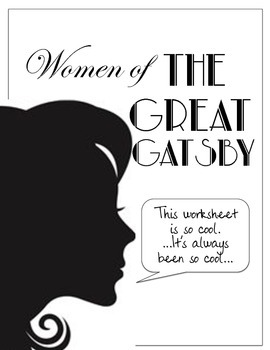 Women of The Great Gatsby Worksheet