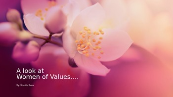 Women of Value Presentation
