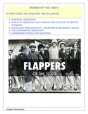 Women of the 1920s - Close Reading lesson