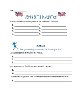 Women of the American Revolution