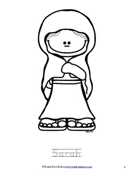 Women of the Bible Coloring Book-Level A
