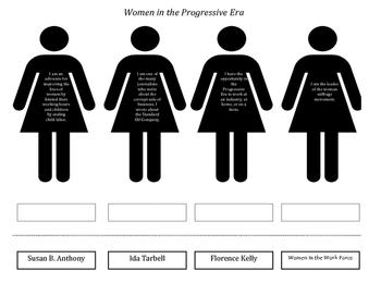 Women of the Progressive Era Handout