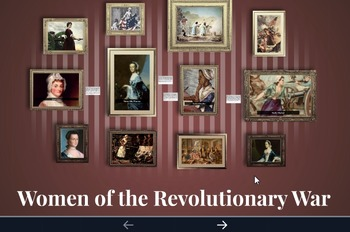 Women of the Revolutionary War Prezi