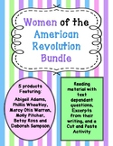 Women of the Revolutionary War Bundle