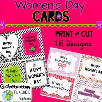 Greeting Card-Women's Day (Set 1)