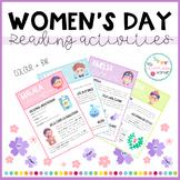 Women's Day - Reading activities