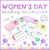 Women's Day - Reading activities