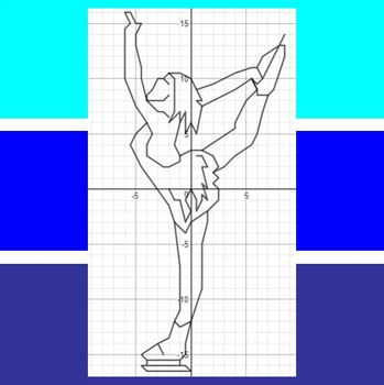 Women's Figure Skating - An Olympic Coordinate Graphing Activity