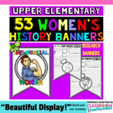 Women's History Month: Biography Research Banner