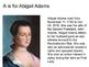 Women's History ABCs