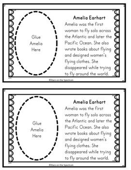 Women's History Activity (Reader/Cut & Paste Booklet)