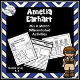 Women's History Month Amelia Earhart Activity