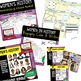 Women's History Activities, Word Wall, Puzzles, Choice Boards BUNDLE