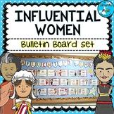 Women's History Month Bulletin Board Set - Famous Women - MARCH B.B.