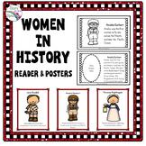 Women's History Bundle - Reader & Posters (Women's History