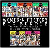 Women's History Clip Art Big Bundle {Educlips Clipart}