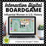 Women's History Digital Board Game for Google Slides