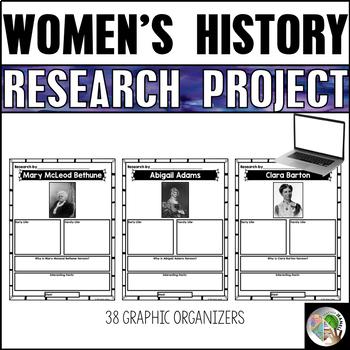 Women's History Graphic Organizers