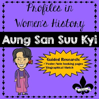 Women's History Guided Research Activity: Aung San Suu Kyi