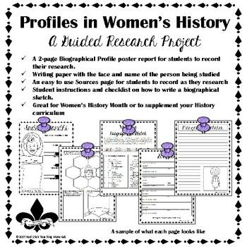 Women's History Guided Research Activity: Clara Barton