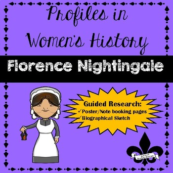 Women's History Guided Research Activity: Florence Nightingale