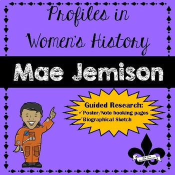 Women's History Guided Research Activity: Mae Jemison