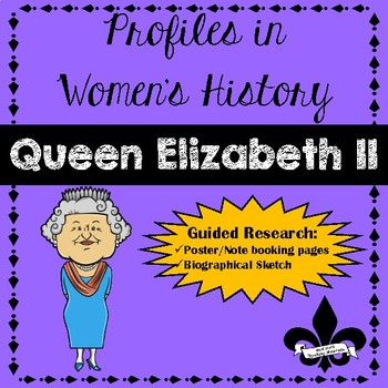 Women's History Guided Research Activity: Queen Elizabeth II