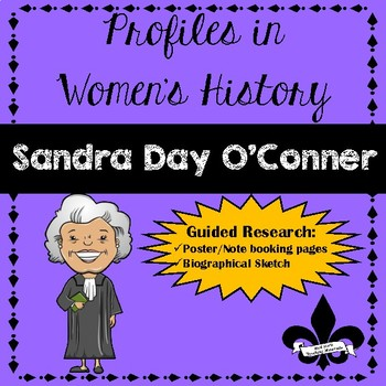 Women's History Guided Research Activity: Sandra Day O'Conner