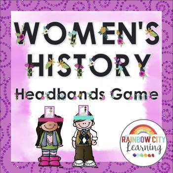 Women's History Headbands Game
