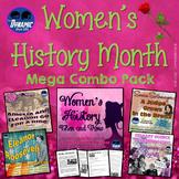 Women's History Interactive Notebook MEGA UNIT w/ Lesson Plans, Test Prep & More