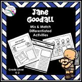 Women's History Month Jane Goodall Activity