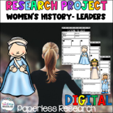 Women's History- Leaders [Google Classroom Compatible]