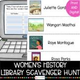 Women's History Library Scavenger Hunt