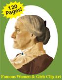 Famous Women & Girls Clip Art Bundle CC Catalog Part 2