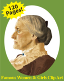Famous Women & Girls Clip Art Bundle - CC Catalog Part 2