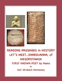 Women's History: Mesopotamia's Enheduanna, First Known Poet in History(Reading)