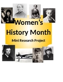 Women's History Mini Research Project