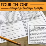 Women's History Month Reading Comprehension and for Distance Learning