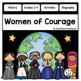 Women's History Month Activities: Famous Women in History BUNDLE with 6 women