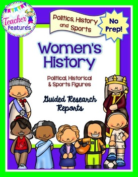 Famous Women in Politics, Sports & History WOMEN'S HISTORY MONTH