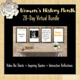 Women's History Month 28 Day Virtual Bundle: Google (SEL)