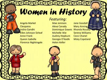 Women's History Month:  A Scavenger Hunt